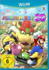 Mario Party 10 (Nintendo Wii U, 2015, DVD-Box) sehr gut