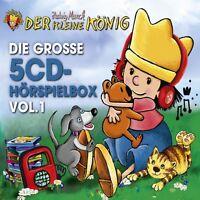DER KLEINE KÖNIG - DIE GROßE 5-CD HÖRSPIELBOX VOL.1  5 CD NEU