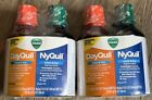 2 Twin Vicks DayQuil & NyQuil Severe Cold & Flu 12oz Each Exp 8/2022+