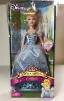 Walt Disney Cinderella Sparkle Eyes Barbie 14789 Mattel Doll Princess 1995