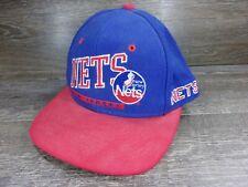 Vintage 1990's New Jersey Nets Snapback Hat NBA Basketball