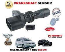 FOR NISSAN ALMERA + TINO 2.2 DCi YD22DDT I 2000--> NEW CRANKSHAFT ANGLE SENSOR