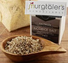 Saltverk Lakritz Salz aus Island 125g Box
