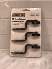 Moultrie Ez Trail Camera Tree Mount- Mfhp12571-Game Camera Mount-Black-3 Ea.