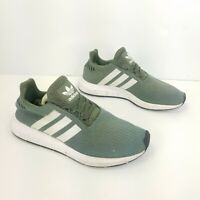 Adidas Swift Run Running Shoes Green Athletic Training Sneakers Womens Size 6