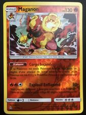 Carte Pokemon MAGANON 19/156 Holo Reverse Soleil et Lune 5 SL5 FR NEUF