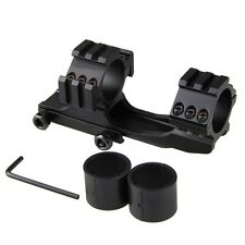 30mm Sniper Rifle Scope Mount Dual Ring Cantilever Picatinny Weaver Rail 21mm
