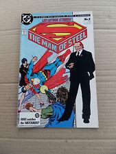 The Man Of Steel 4 of 6 . J.Byrne / D. Giordano . DC 1986 .VF - minus