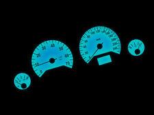LETRONIX LED Tachobeleuchtung Weiß Blau Rot Opel Astra G Zafira A Corsa C P&P
