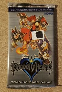 New Unopened Disney Kingdom Hearts Chain of Memories Trading Card Booster Pack!