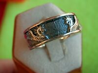 DAVID YURMAN Men's Sterling Silver Mythical Dragon Griffin Band Size 8
