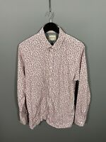 TED BAKER ARCHIVE Shirt - Size 17 - Floral - Great Condition - Men's