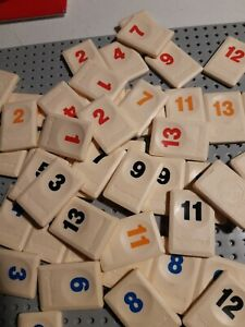 Replacement Rummikub Tiles - Choose the tile you want