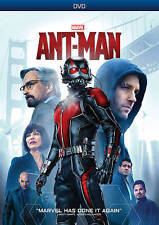 ANT-MAN (DVD, 2015) MARVEL CINEMATIC UNIVERSE, NEW FREE SHIPPING Ships in 12 HRS