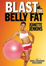 BLAST THE BELLY FAT JEANETTE JENKINS EXERCISE DVD NEW SEALED WORKOUT FITNESS