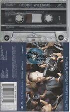 Robbie Williams Life Thru A Lens cassette K7 tape angels let me entertain you