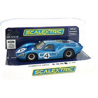 Scalextric C4031 Ford GT '67 LeMans 24Hr Denny Hulme/Lloyd Ruby #4 1/32 Slot Car