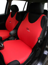 2 RED FRONT VEST T-SHIRT CAR SEAT COVERs PROTECTORS FOR Mercedes CLC Class