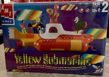 ERTL AMT The Beatles Yellow Submarine Model Plastic Model Kit #30097 New Sealed