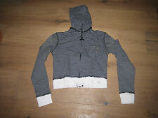 MNG Pull Sweat capuche femme rayures Mango