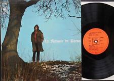LA FORMULE DU BARON LP French 1971 Bernard ESTARDY