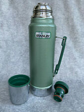 Aladdin Stanley Thermos #A-944DH with Nice Handle, Stopper & Cup - SUPER CLEAN