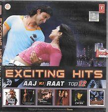 EXCITING HITS AAJ KI RAAT - TOP 12 - BRAND NEW FILMS MIX SONGS CD - FREE UK POST