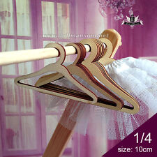 PF Clothes // 235#3pcs Set 1//3 BJD SD AOD DOD Dollfie Set Wooden Hanger