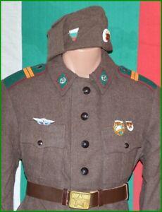 Bulgarian Army Border Guard Junior Sergeant Winter wool Uniform 1960's - 1990's.