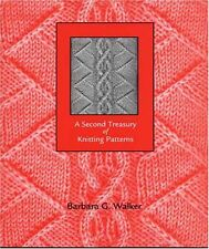 A Second Treasury of Knitting Patterns by Barbara G. Walker, (Paperback), School