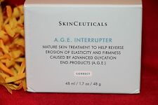 SKINCEUTICALS A.G.E. AGE INTERRUPTER FACE CREAM FULL SIZE 1.7 OZ AUTHENTIC FRESH