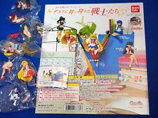Bandai Sailor Moon Desk Top Soldiers Complete Set (5) Mini Figures Japan