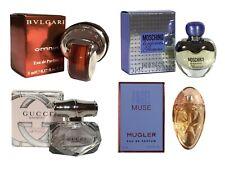 Mini Thierry Mugler Angel Muse Gucci Bamboo BVLGARI Omnia Moschino Women Perfume