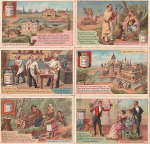 Original Liebigbilder Serie Nr.279 von 1894 - Probleme IV - guter Zustand