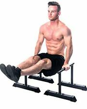 XL Parallette Bars, Versatile Push Up & Dip Bars for Strength Workouts, Upper