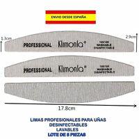 5 LIMAS PARA UÑAS PROFESIONAL 100/180 MANICURA PEDICURA SALÓN BELLEZA LAVABLES