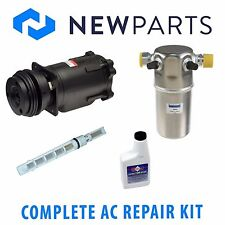 For Chevrolet G30 6.2L 87-92 G20 NEW AC A/C Repair Kit w/ Compressor & Clutch
