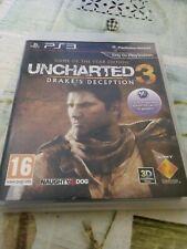 Playstation 3 juego : UNCHARTED 3 : Drake's Deception (muy buen estado)
