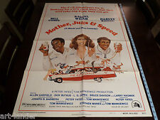 Bill Cosby MOTHER, JUGS & SPEED Original 1976 Movie Poster 27x41 Welch Keitel