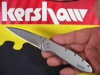"KERSHAW ""USA"" - Composite Blade LEEK Assisted SPEEDSAFE Knife Ken Onion 1660CB"