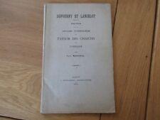LORRAINE NOTES SUR ANCIENS INVENTAIRES TRESOR CHARTES DE LORRAINE 1894 MARICHAL