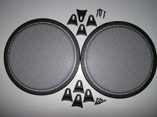 10 inch Speaker Grill. small round holes. Set
