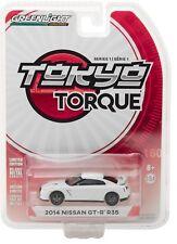 1:64 GreenLight *Tokyo Torque Japan* White 2014 Nissan Gt-R R35 *Nip*