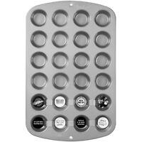 Wilton 2105-914 Recipe Right Non-Stick 24-Cup Mini Muffin Pan