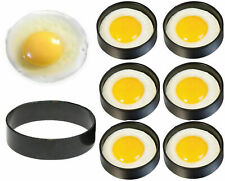 Cooking Kitchen Tools Stainless Steel Fried Egg Shaper Ring Pancake Mould Mold~~