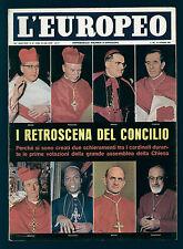 EUROPEO 43/1962 CONCILIO VATICANO LAOS NAM-THA MUSSOLINI HITLER 1944 CITROEN AMI