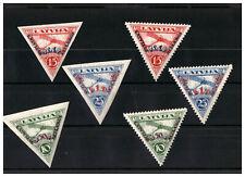 Lettland 1931 Michel Nr 190- 193  A - B  postfrisch