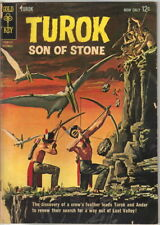 Turok Son Of Stone Comic Book #30, Gold Key 1962 Very Good