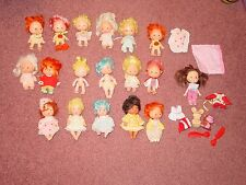 Strawberry Shortcake Doll Mixed Lot Baby Blow Kiss + Critter Misc lot #5