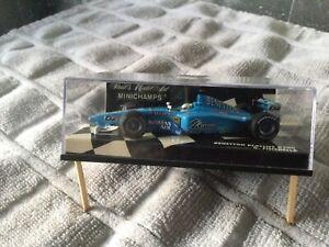 1:43 Giancarlo Fisichella-Benetton B198-1998~Minichamps Pauls Model Art